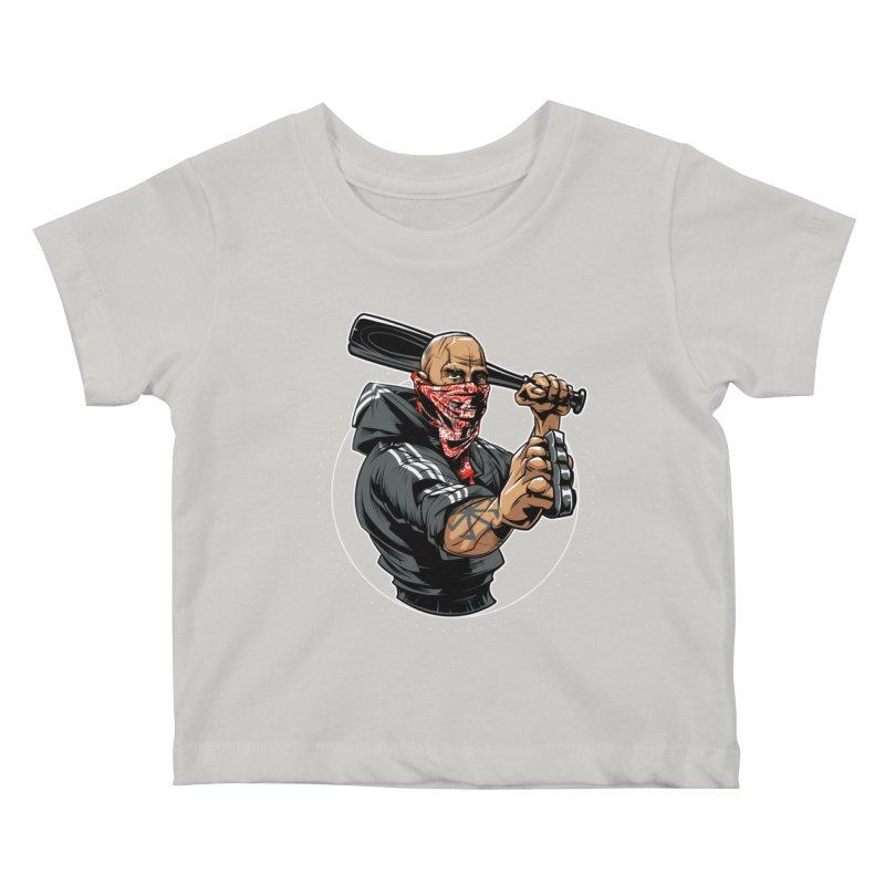 Bandit Kids Baby T-Shirt by fishark's Artist Shop