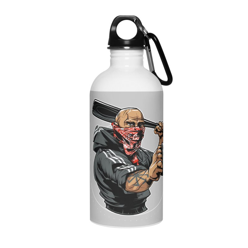 Bandit Accessories Water Bottle by fishark's Artist Shop