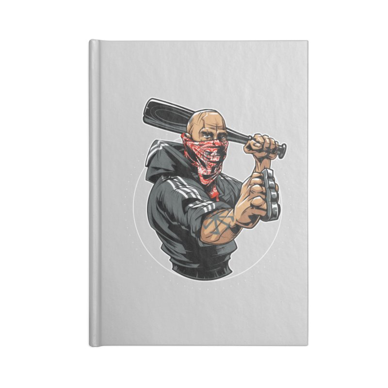 Bandit Accessories Notebook by fishark's Artist Shop