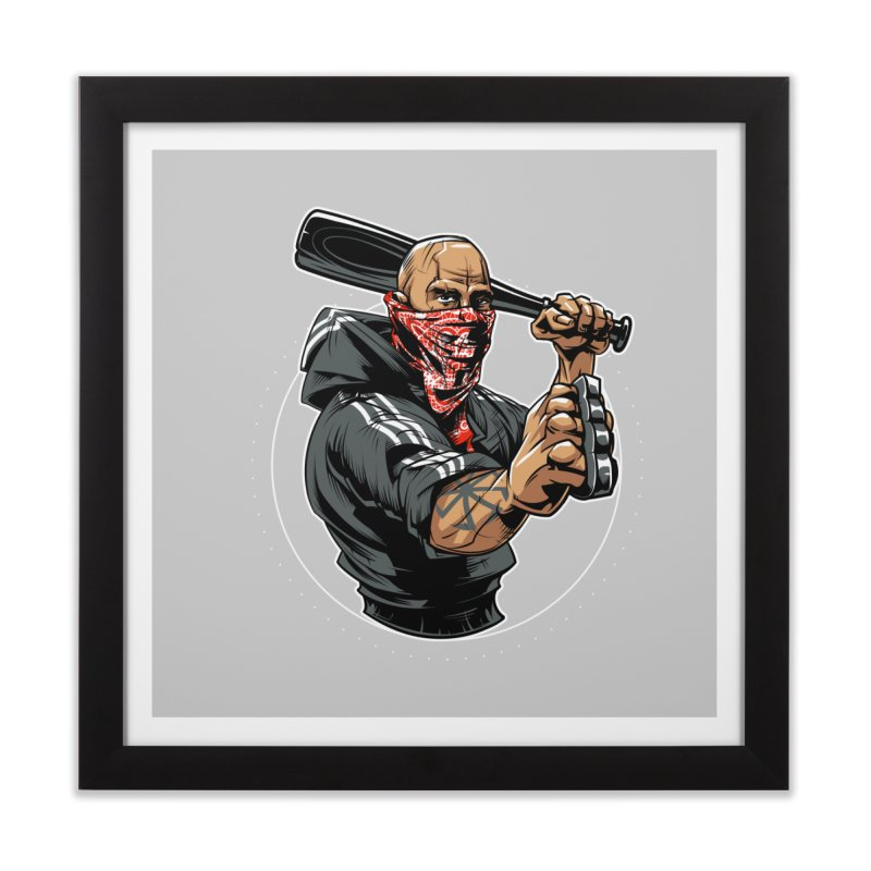 Bandit Home Framed Fine Art Print by fishark's Artist Shop