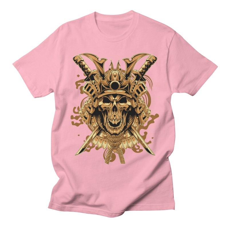 Skull samurai Men's Regular T-Shirt by fishark's Artist Shop