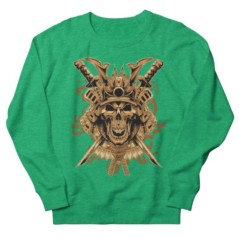 Skull samurai Men's Sweatshirt by fishark's Artist Shop