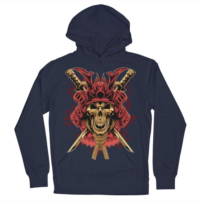 Skull Samurai Men's Pullover Hoody by fishark's Artist Shop
