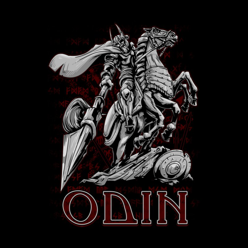 Odin Kids Longsleeve T-Shirt by fishark's Artist Shop