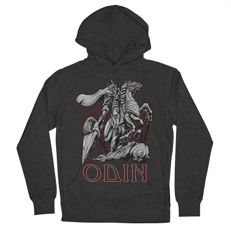 Odin Women's French Terry Pullover Hoody by fishark's Artist Shop