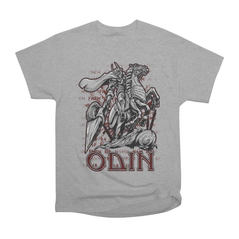 Odin Men's Heavyweight T-Shirt by fishark's Artist Shop
