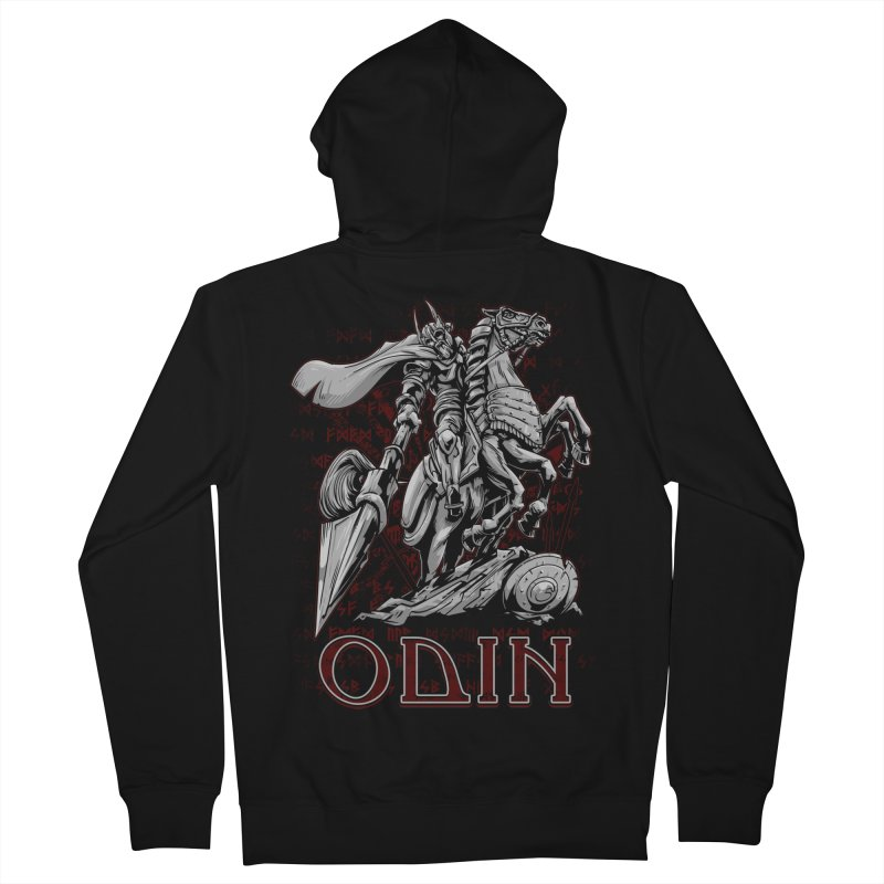 Odin Men's Zip-Up Hoody by fishark's Artist Shop
