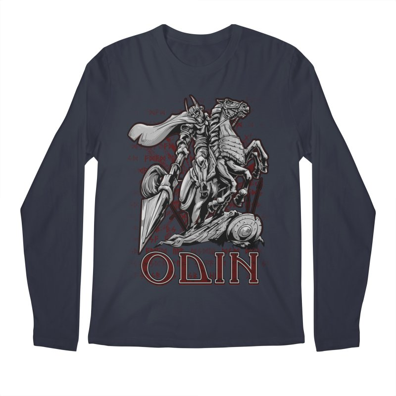 Odin Men's Regular Longsleeve T-Shirt by fishark's Artist Shop
