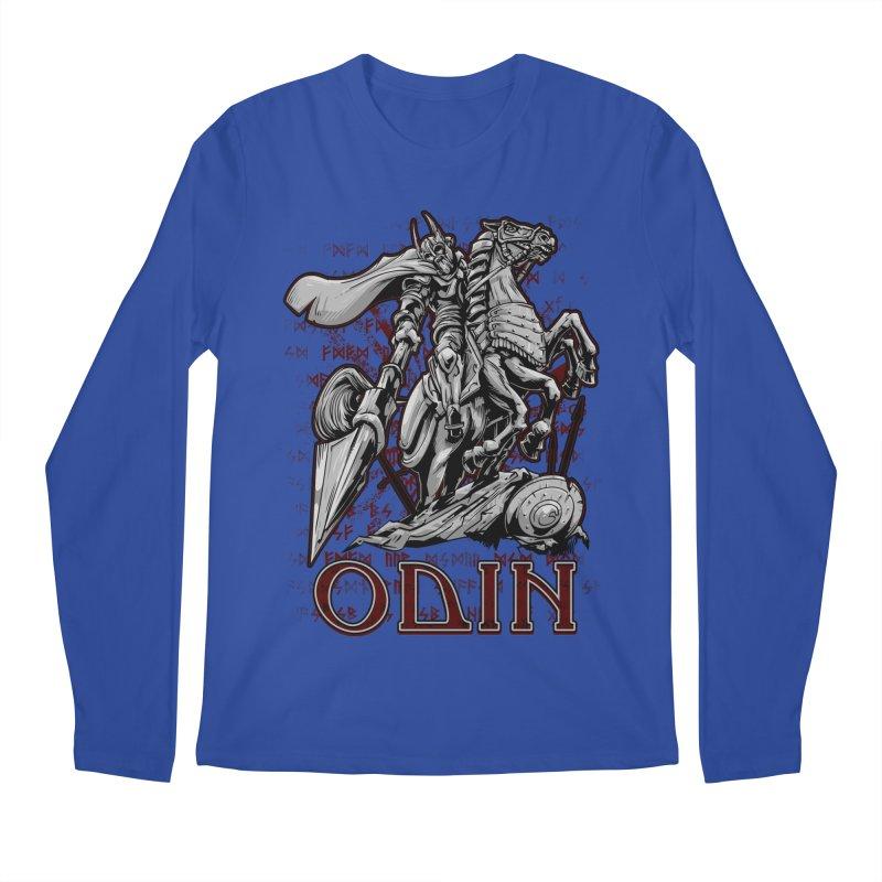 Odin Men's Regular Longsleeve T-Shirt by fishark's Artist Shop