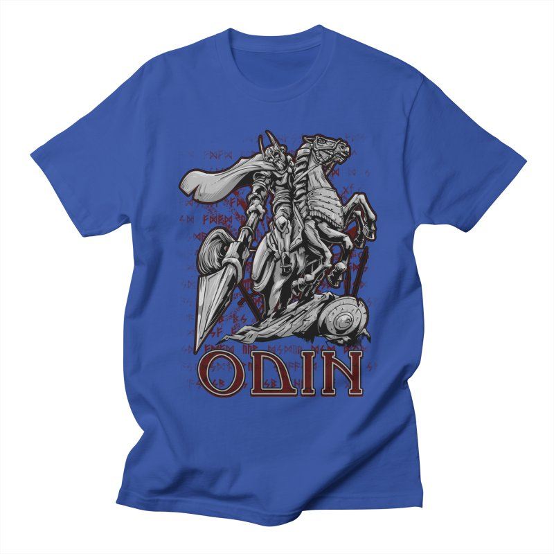 Odin Men's Regular T-Shirt by fishark's Artist Shop