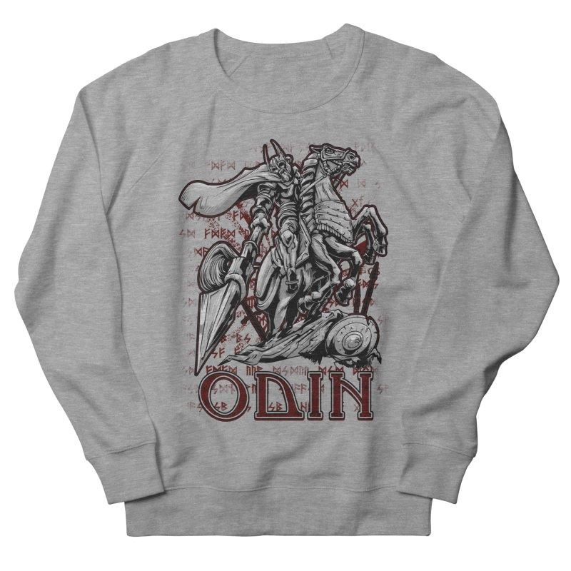 Odin Men's Sweatshirt by fishark's Artist Shop