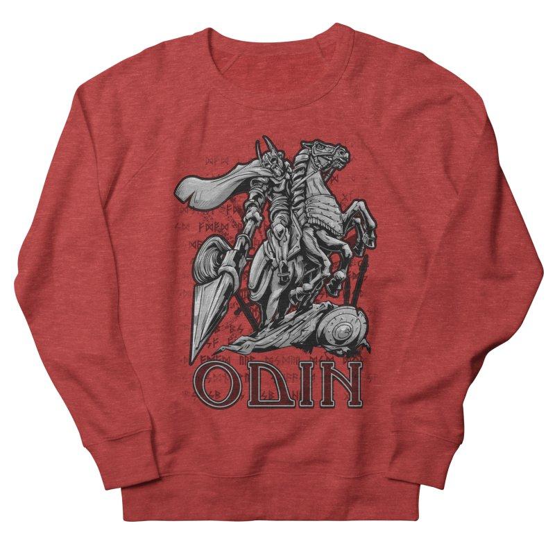 Odin Men's French Terry Sweatshirt by fishark's Artist Shop
