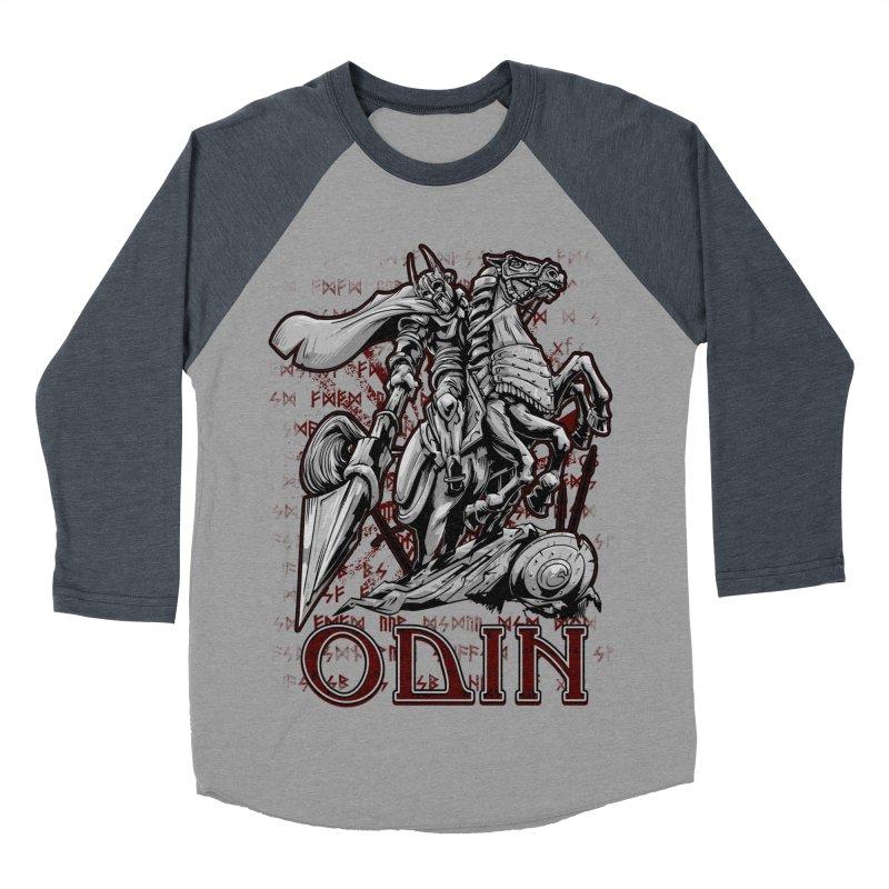 Odin Women's Baseball Triblend Longsleeve T-Shirt by fishark's Artist Shop