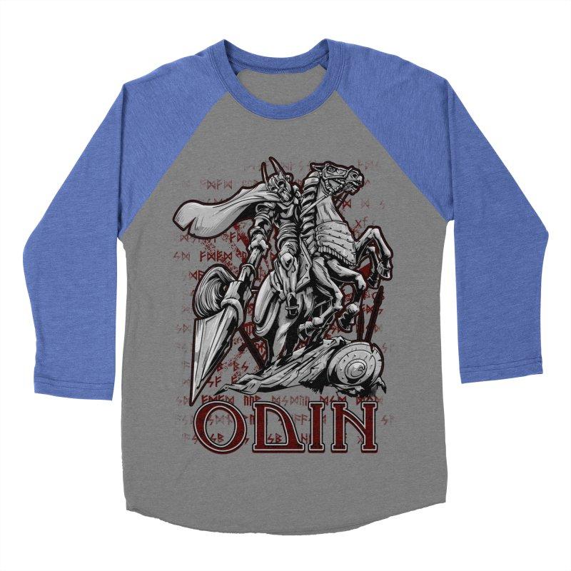 Odin Men's Baseball Triblend Longsleeve T-Shirt by fishark's Artist Shop