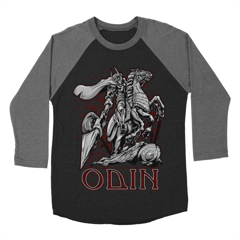 Odin Men's Baseball Triblend T-Shirt by fishark's Artist Shop