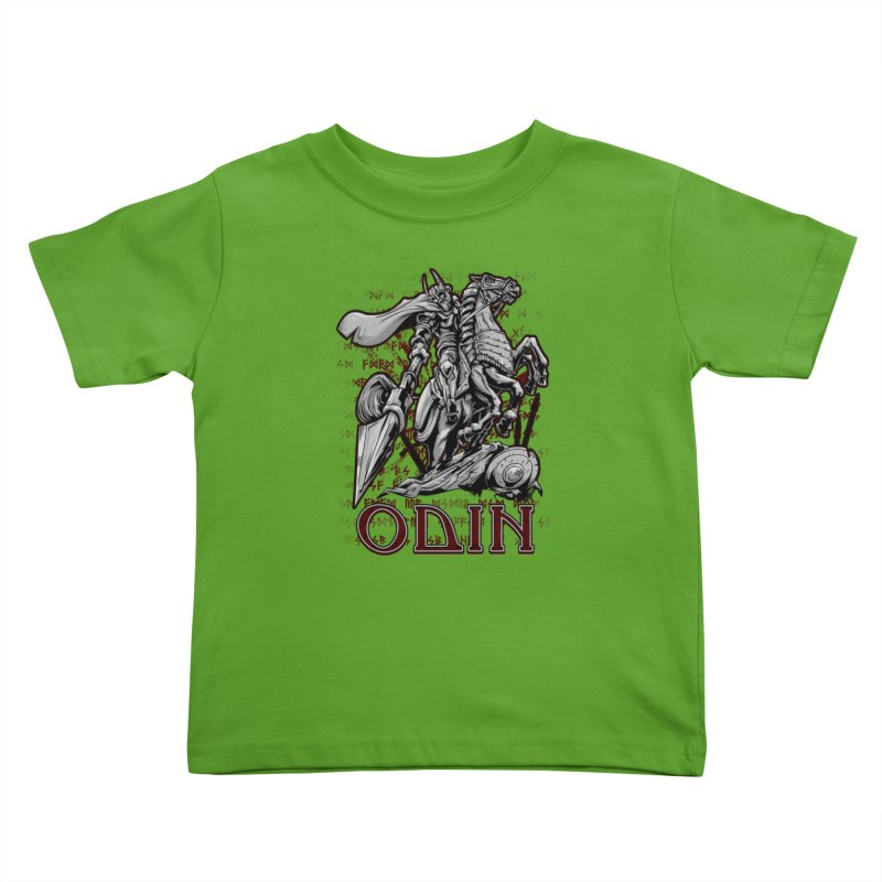 Odin Kids Toddler T-Shirt by fishark's Artist Shop