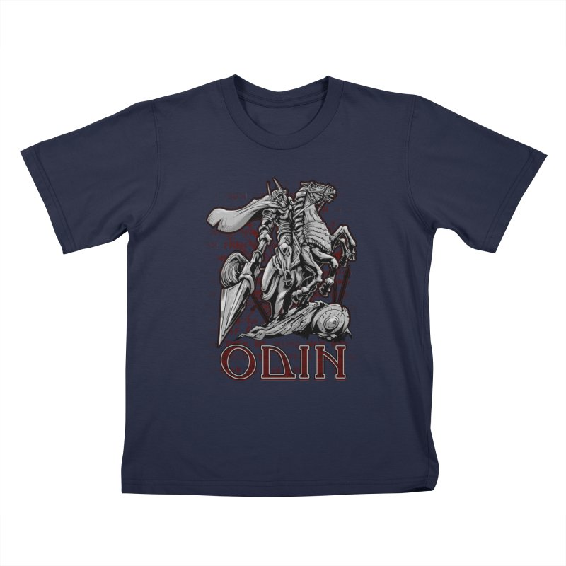 Odin Kids T-Shirt by fishark's Artist Shop