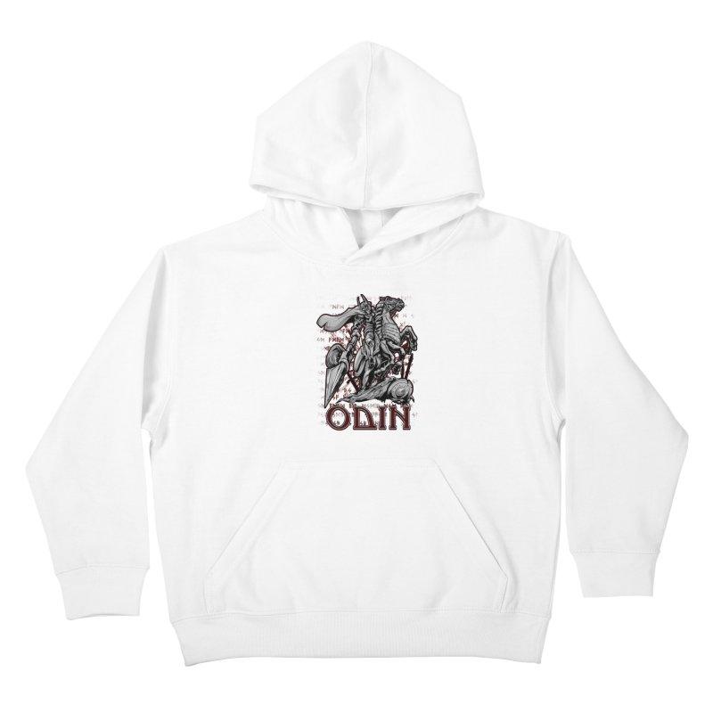 Odin Kids Pullover Hoody by fishark's Artist Shop