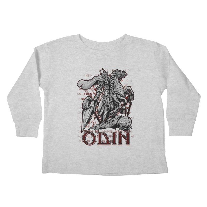 Odin Kids Toddler Longsleeve T-Shirt by fishark's Artist Shop