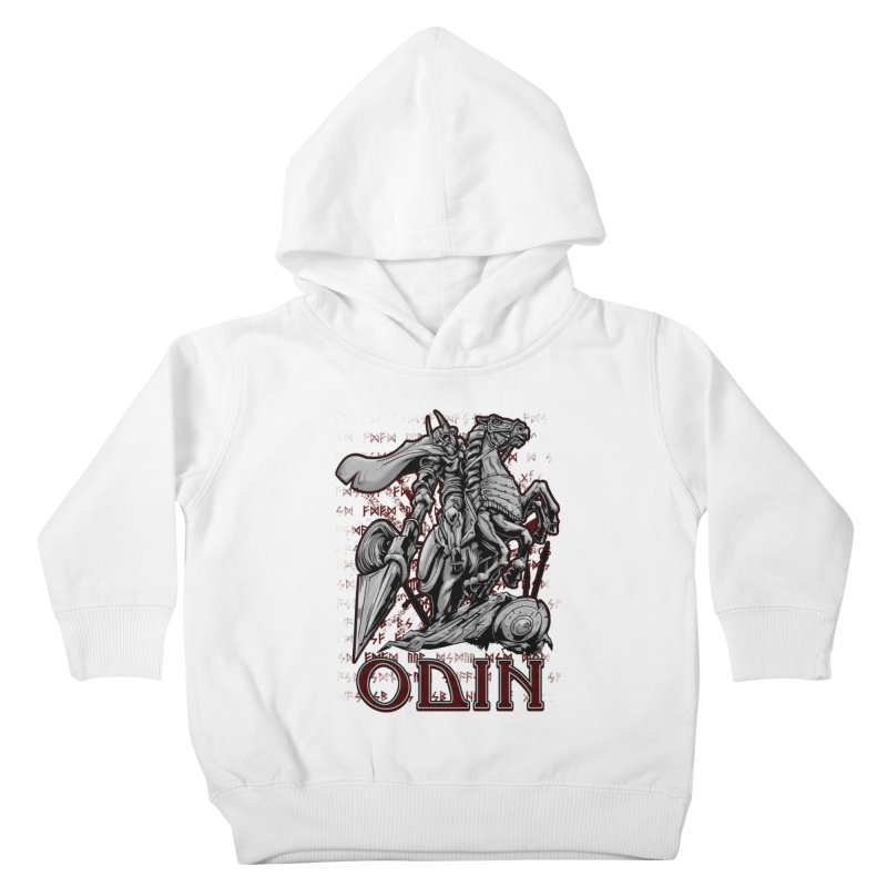 Odin Kids Toddler Pullover Hoody by fishark's Artist Shop