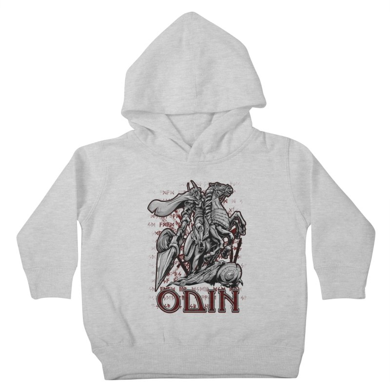 Odin Kids Toddler Pullover Hoody by fishark's Artist Shop