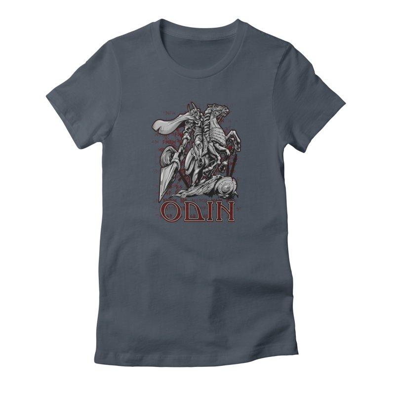 Odin Women's T-Shirt by fishark's Artist Shop
