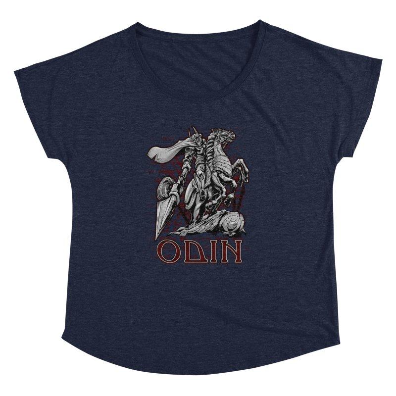 Odin Women's Dolman Scoop Neck by fishark's Artist Shop