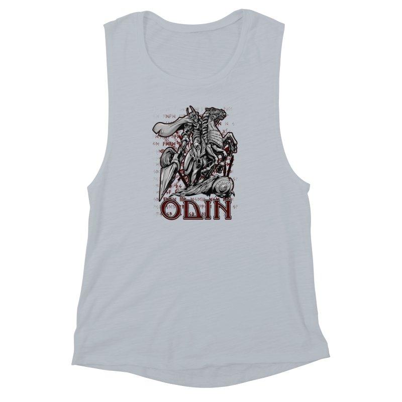 Odin Women's Muscle Tank by fishark's Artist Shop