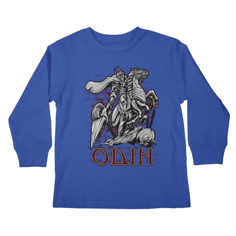Odin Kids Longsleeve T-Shirt by fishark's Artist Shop