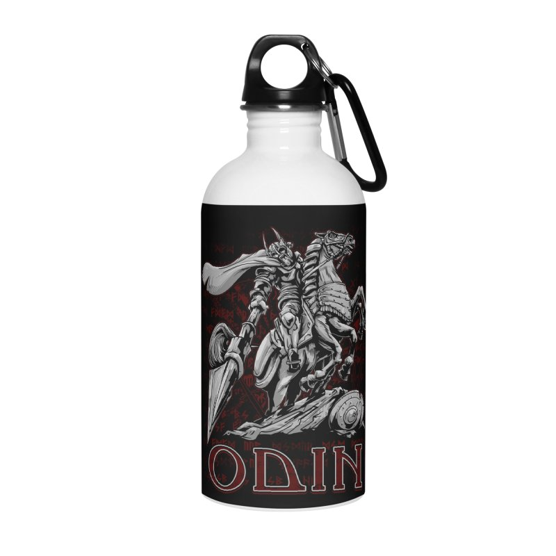 Odin Accessories Water Bottle by fishark's Artist Shop