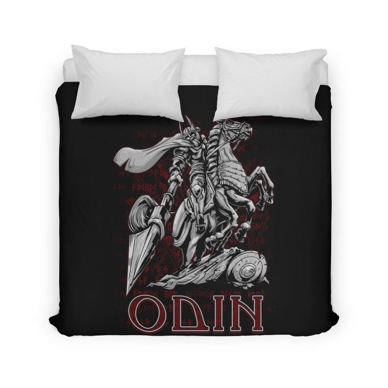 Odin Home Duvet by fishark's Artist Shop