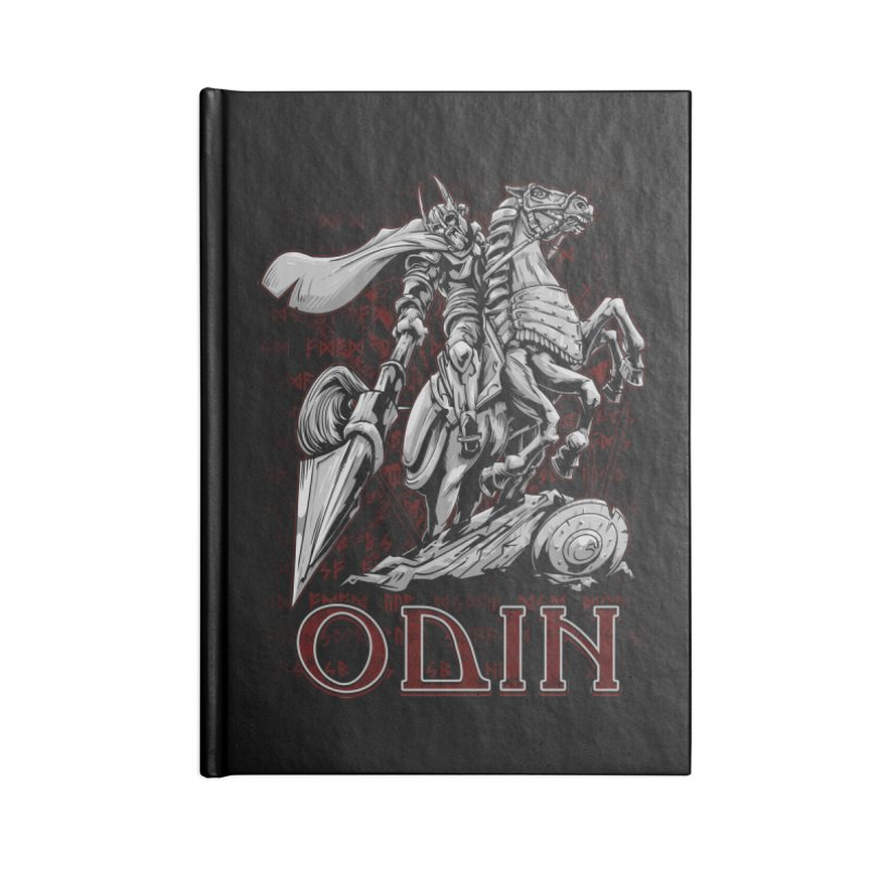 Odin Accessories Notebook by fishark's Artist Shop