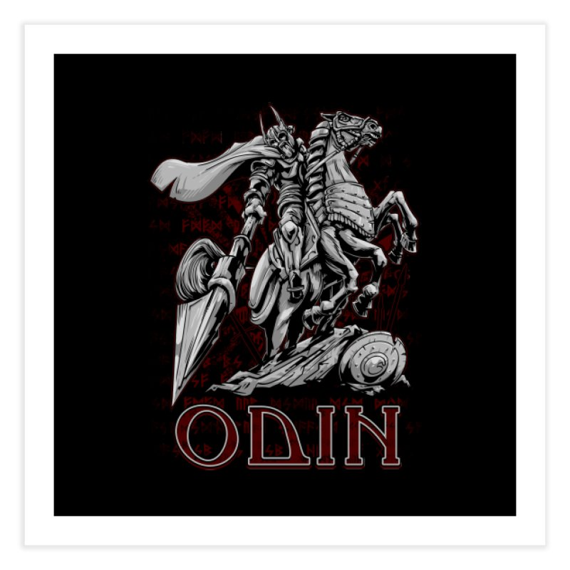 Odin Home Fine Art Print by fishark's Artist Shop