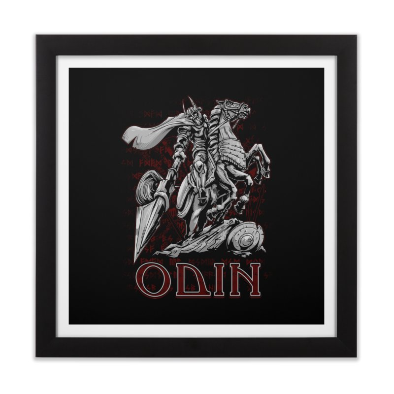 Odin Home Framed Fine Art Print by fishark's Artist Shop