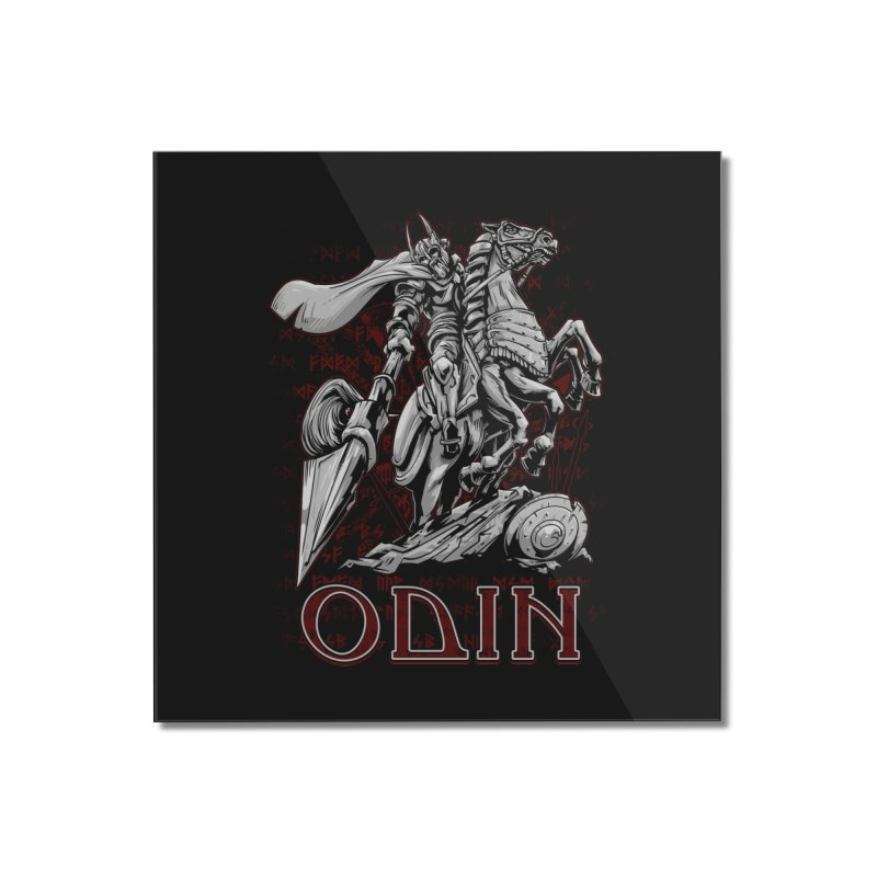 Odin Home Mounted Acrylic Print by fishark's Artist Shop
