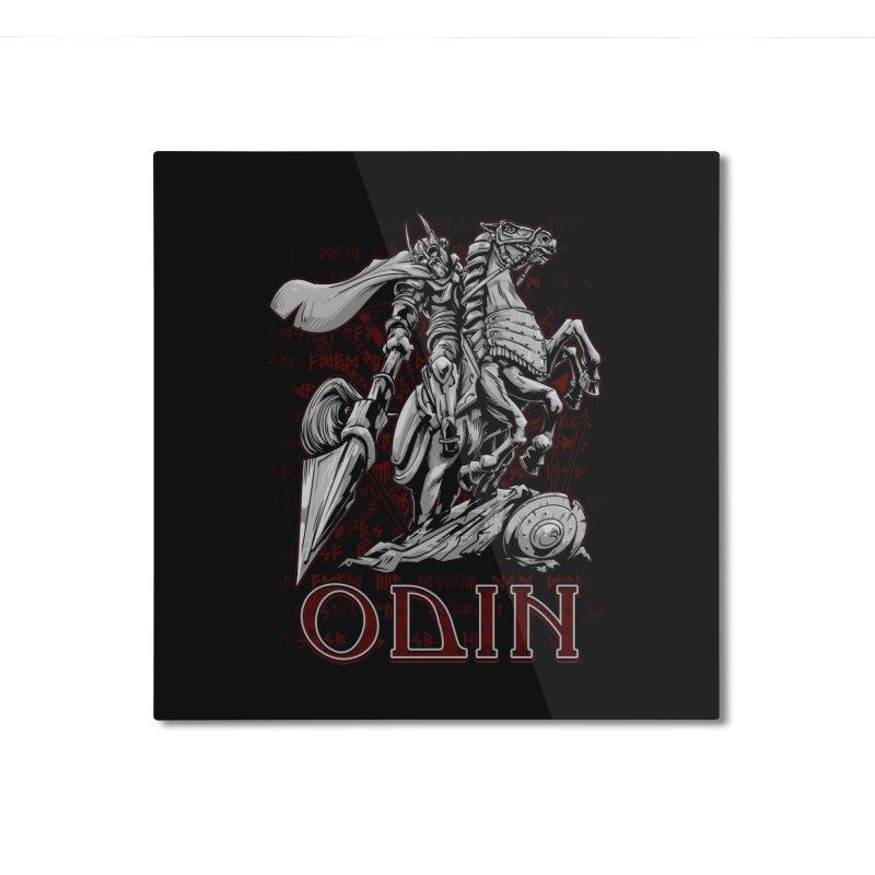 Odin Home Mounted Aluminum Print by fishark's Artist Shop
