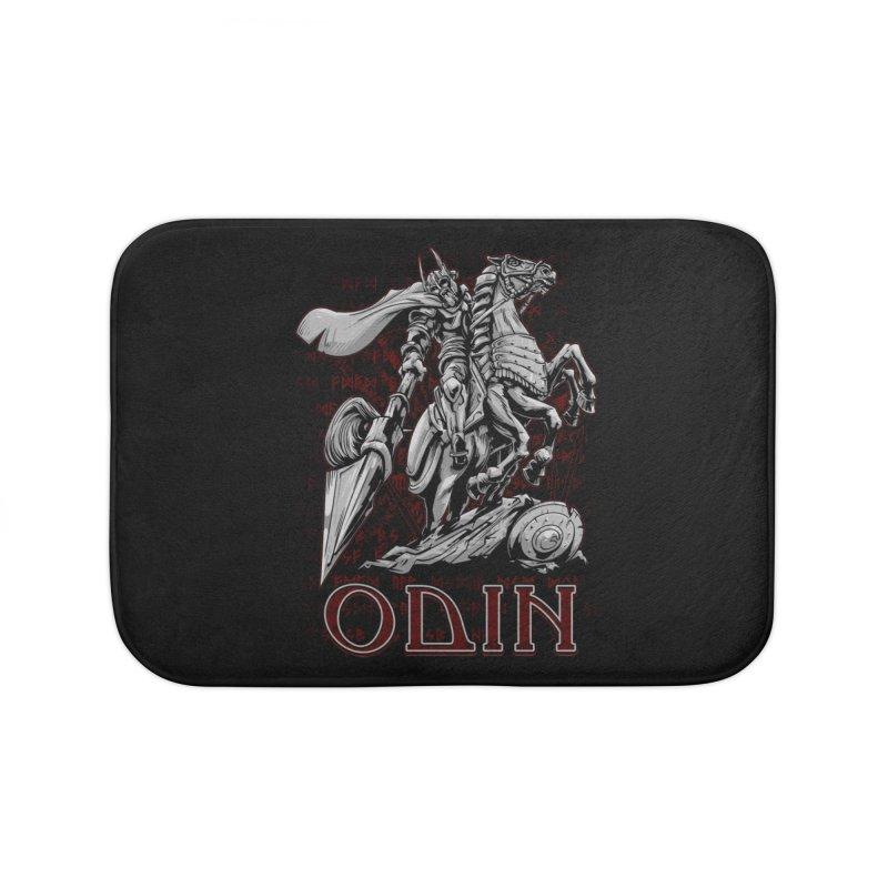 Odin Home Bath Mat by fishark's Artist Shop