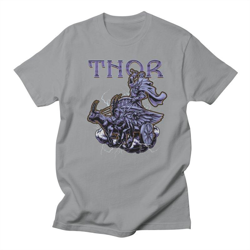 Thor Women's Regular Unisex T-Shirt by fishark's Artist Shop