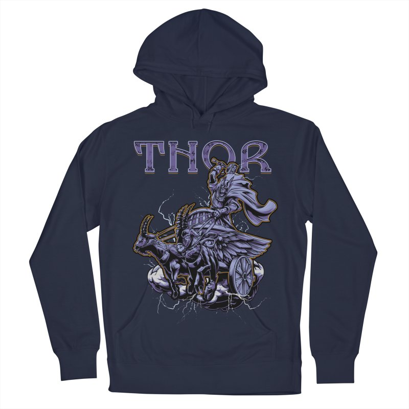 Thor Women's French Terry Pullover Hoody by fishark's Artist Shop