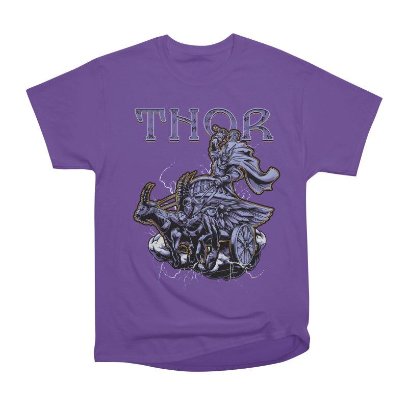 Thor Women's Heavyweight Unisex T-Shirt by fishark's Artist Shop