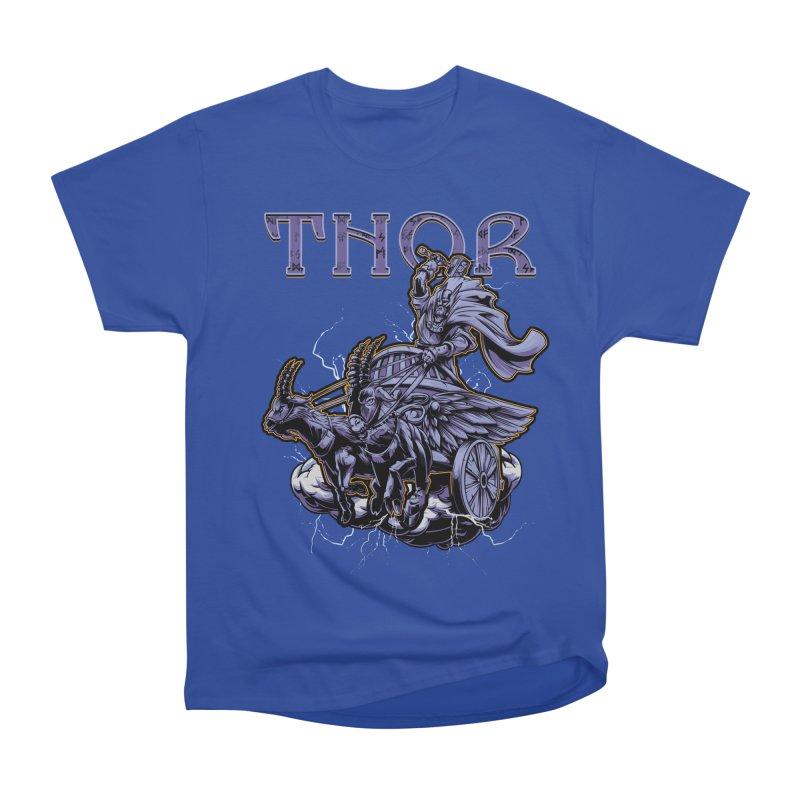 Thor Men's Heavyweight T-Shirt by fishark's Artist Shop