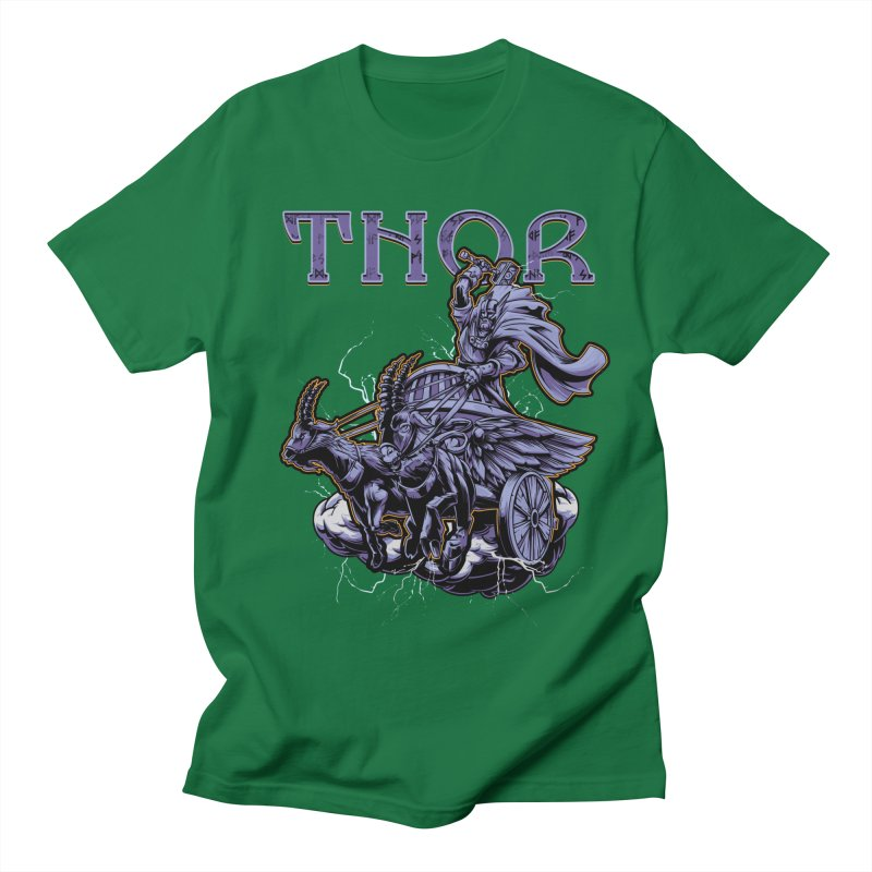 Thor Men's T-Shirt by fishark's Artist Shop