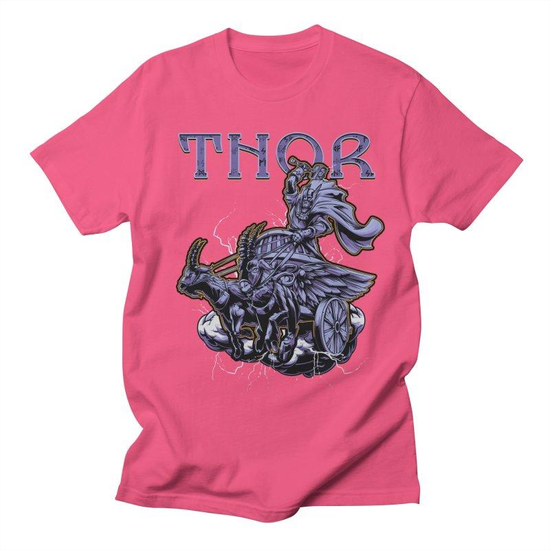 Thor Men's Regular T-Shirt by fishark's Artist Shop