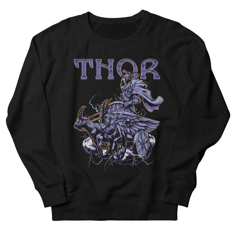 Thor Women's French Terry Sweatshirt by fishark's Artist Shop