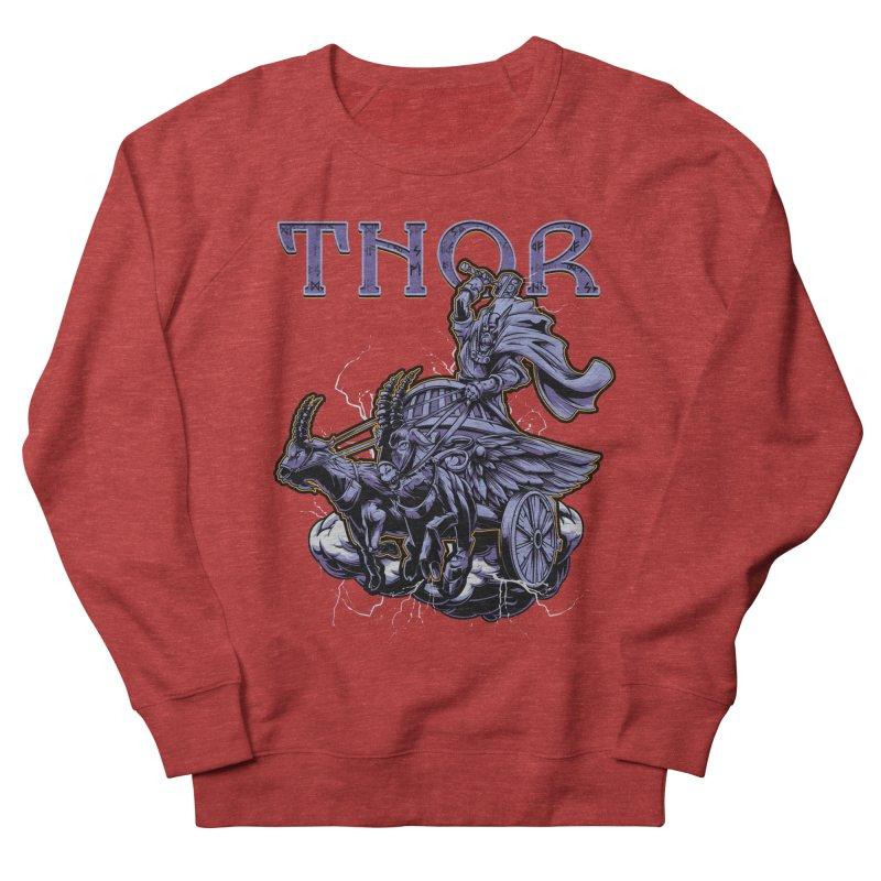 Thor Men's Sweatshirt by fishark's Artist Shop