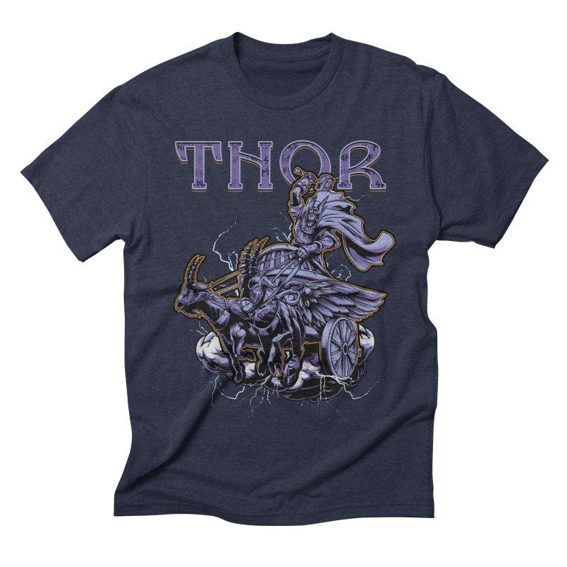 Thor Men's Triblend T-Shirt by fishark's Artist Shop