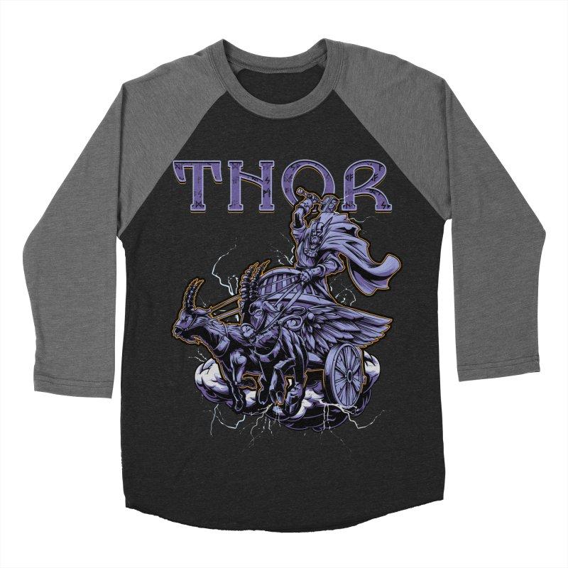 Thor Women's Baseball Triblend Longsleeve T-Shirt by fishark's Artist Shop