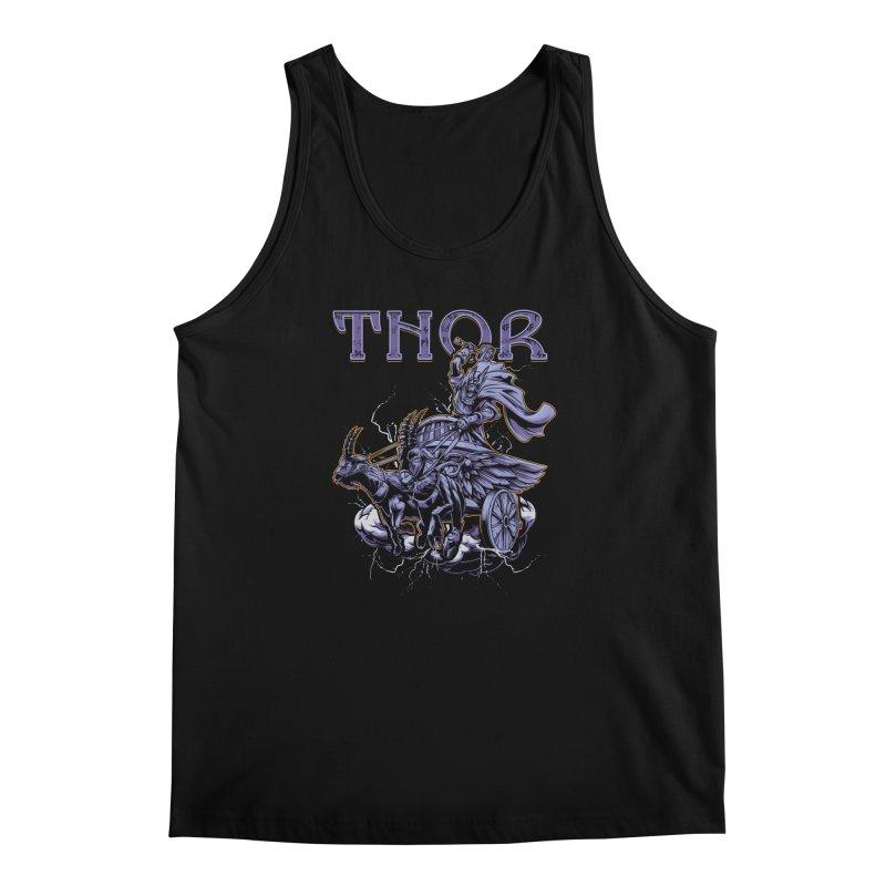 Thor Men's Regular Tank by fishark's Artist Shop
