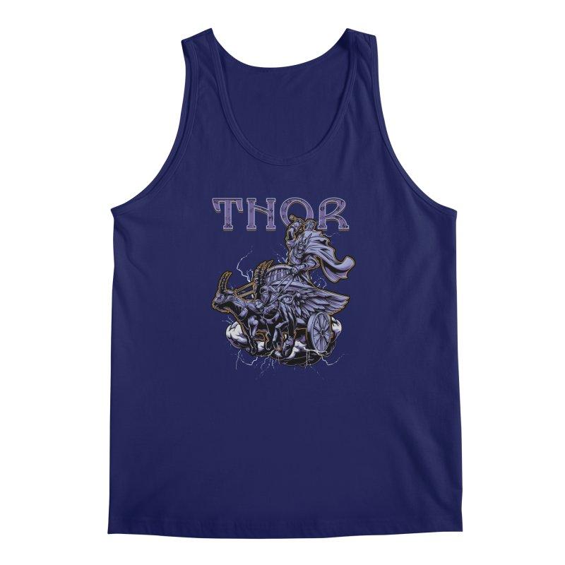 Thor Men's Tank by fishark's Artist Shop
