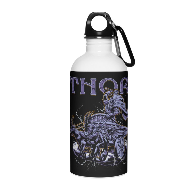 Thor Accessories Water Bottle by fishark's Artist Shop